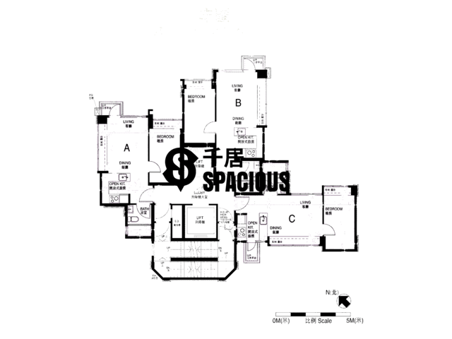 Sham Shui Po - Trinity Towers Floor Plan 07