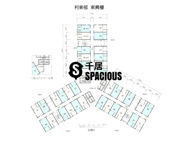 Ap Lei Chau - Lei Tung Estate Floor Plan 08