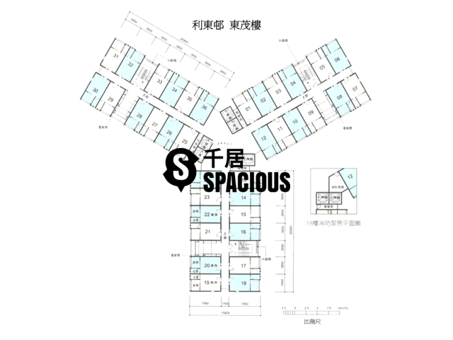Ap Lei Chau - Lei Tung Estate Floor Plan 07
