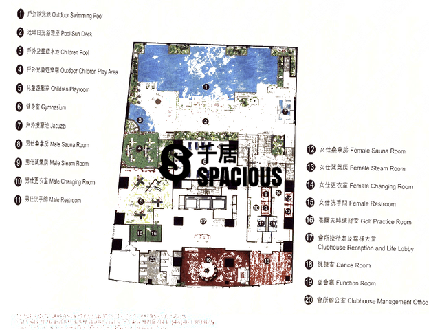 Quarry Bay - La Place de Victoria Floor Plan 06