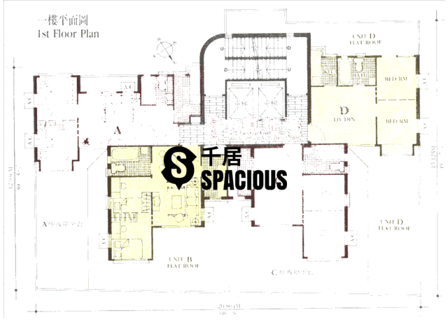 Mid Levels Central - Midland Court Floor Plan 01