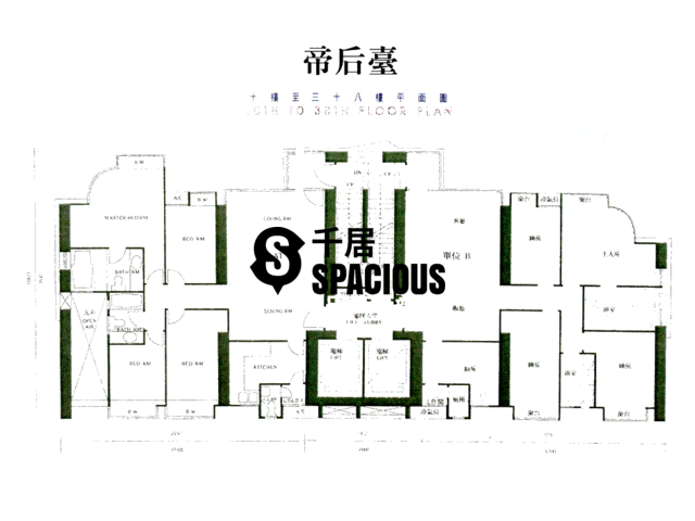 Tai Hang - Grand Deco Tower Floor Plan 05