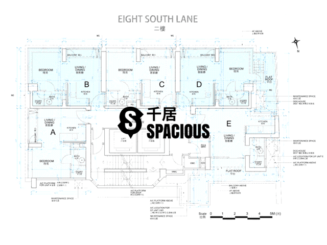 Shek Tong Tsui - Eight South Lane Floor Plan 04