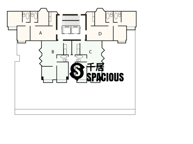 North Point - Wing Po Mansion Floor Plan 01