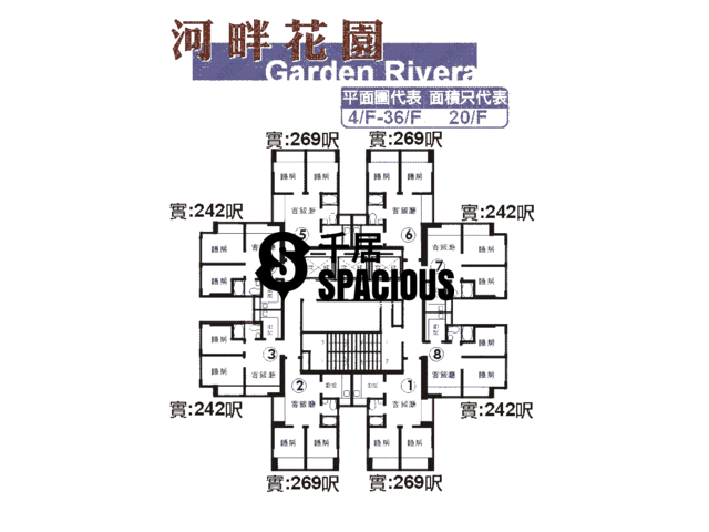 Sha Tin - GARDEN RIVERA Floor Plan 05
