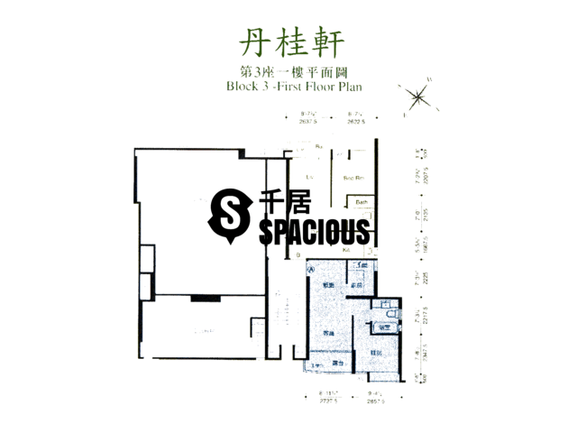 Hung Shui Kiu - THE VERDANCY Floor Plan 01