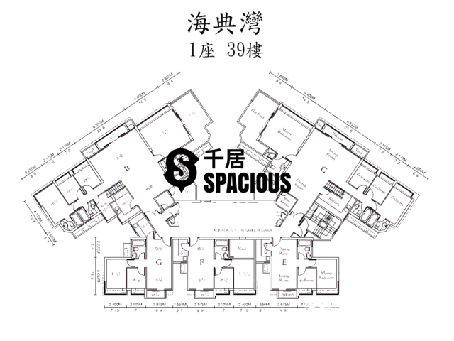 Ma On Shan - OCEAN VIEW Floor Plan 11