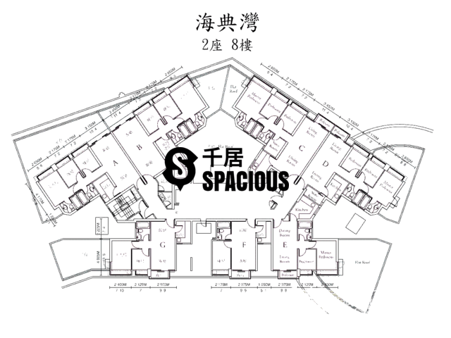 Ma On Shan - OCEAN VIEW Floor Plan 08