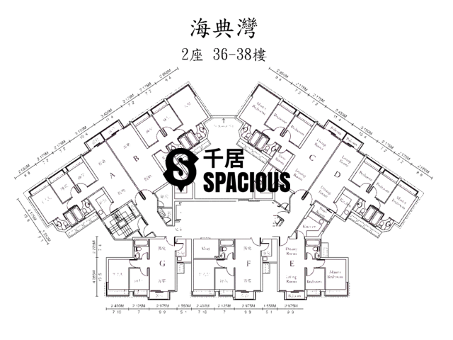 Ma On Shan - OCEAN VIEW Floor Plan 12