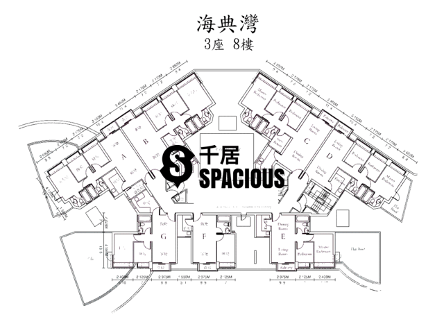 Ma On Shan - OCEAN VIEW Floor Plan 24