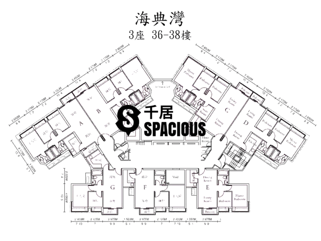 Ma On Shan - OCEAN VIEW Floor Plan 25