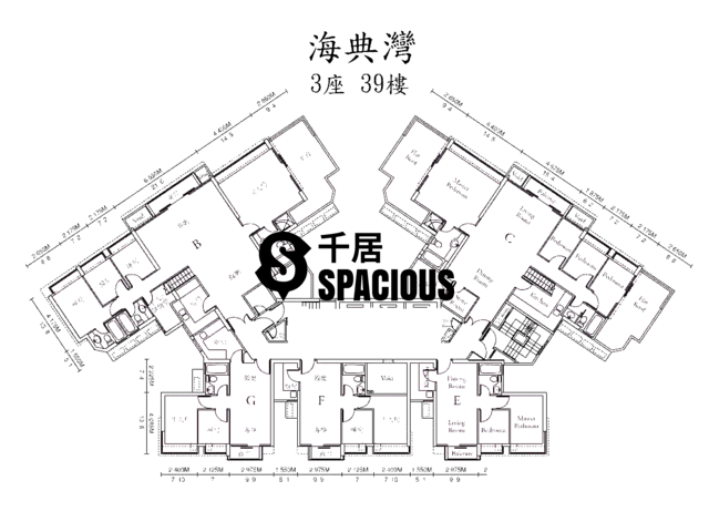 Ma On Shan - OCEAN VIEW Floor Plan 23