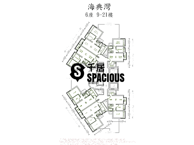 Ma On Shan - OCEAN VIEW Floor Plan 19