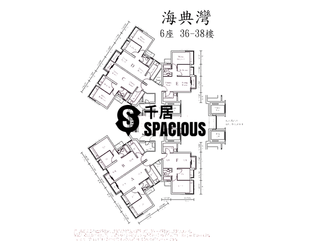 Ma On Shan - OCEAN VIEW Floor Plan 16