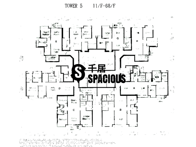 Sham Tseng - Bellagio Floor Plan 11
