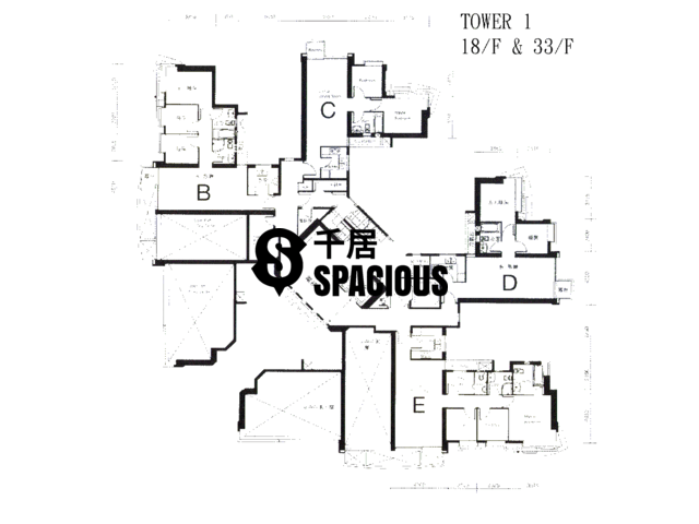 Quarry Bay - The Orchards Floor Plan 01