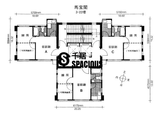 North Point - Marble Court Floor Plan 01