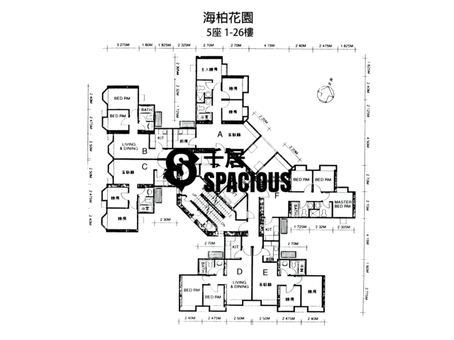 Ma On Shan - BAYSHORE TOWERS Floor Plan 12