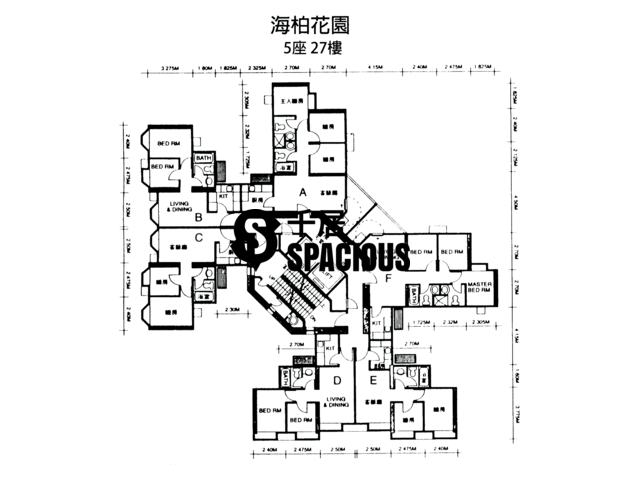 Ma On Shan - BAYSHORE TOWERS Floor Plan 16