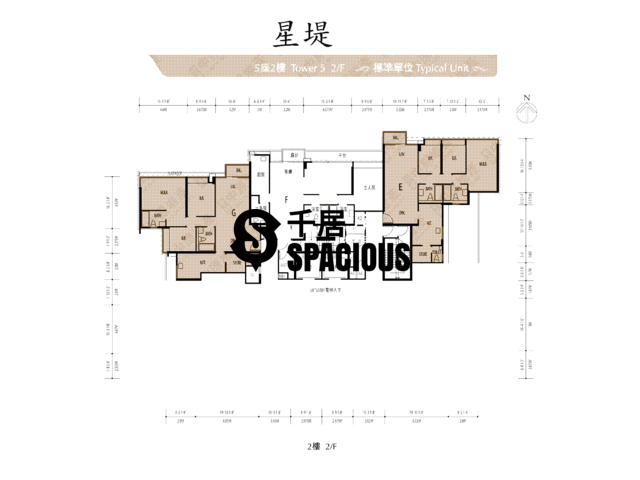 Gold Coast / So Kwun Wat - Avignon Floor Plan 14