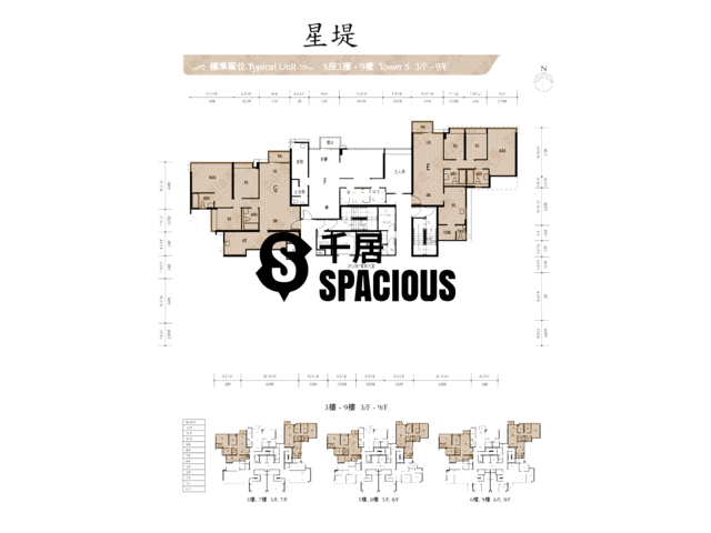 Gold Coast / So Kwun Wat - Avignon Floor Plan 34