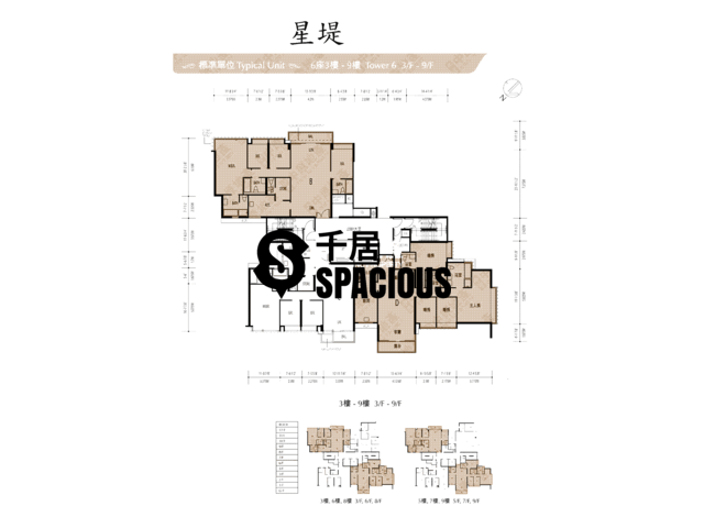 Gold Coast / So Kwun Wat - Avignon Floor Plan 17