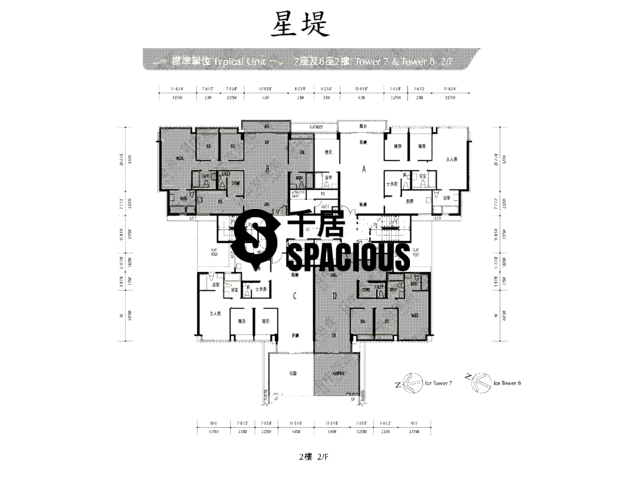 Gold Coast / So Kwun Wat - Avignon Floor Plan 45