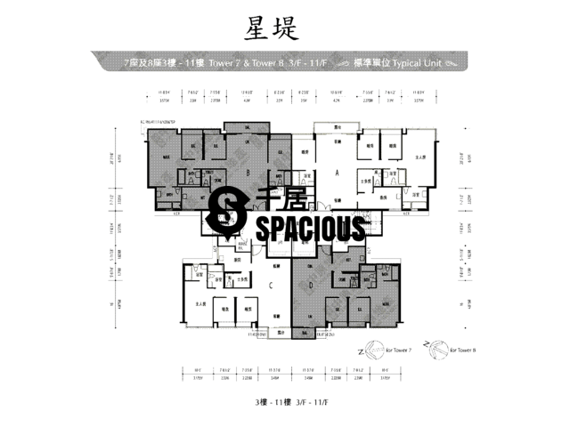 Gold Coast / So Kwun Wat - Avignon Floor Plan 38