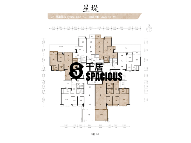Gold Coast / So Kwun Wat - Avignon Floor Plan 41
