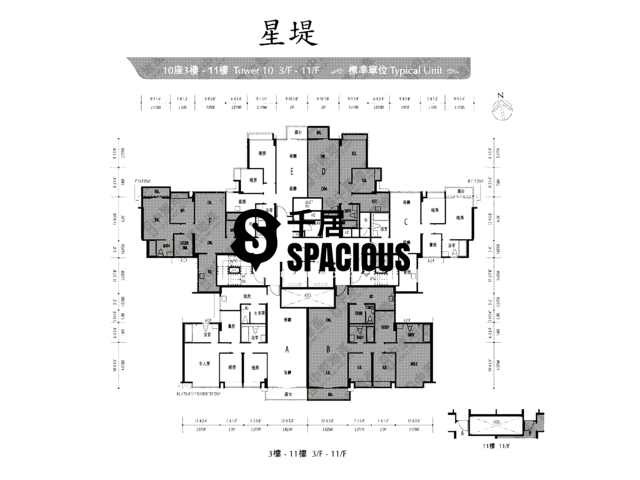 Gold Coast / So Kwun Wat - Avignon Floor Plan 44