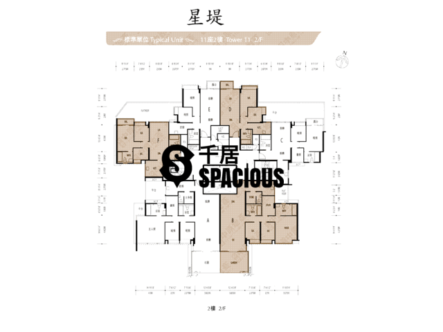 Gold Coast / So Kwun Wat - Avignon Floor Plan 18