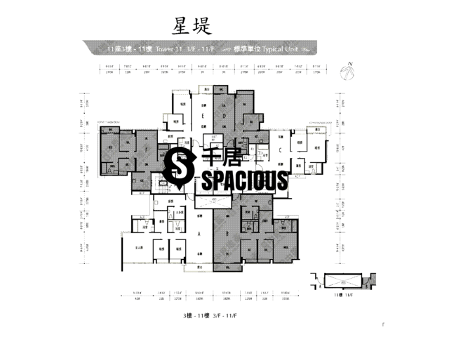 Gold Coast / So Kwun Wat - Avignon Floor Plan 62