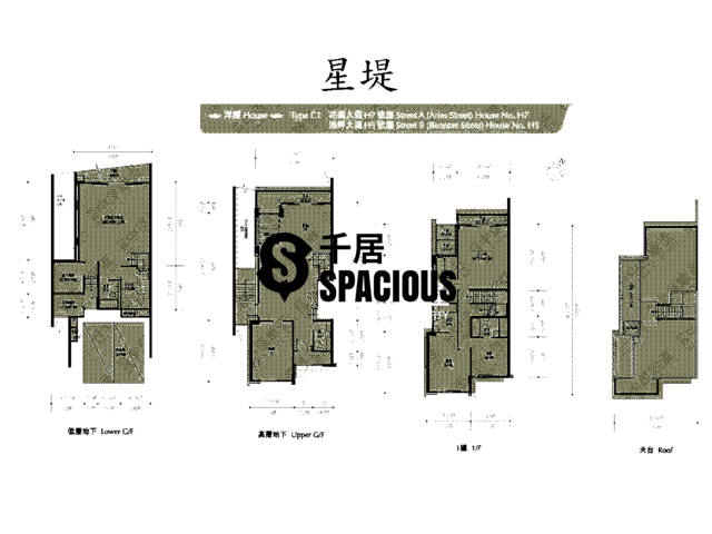 Gold Coast / So Kwun Wat - Avignon Floor Plan 37
