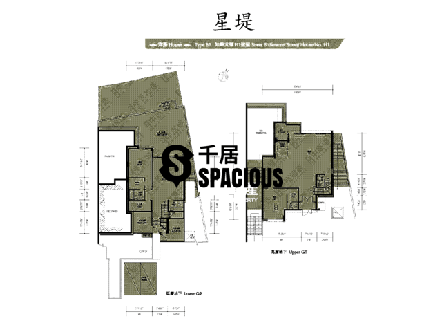 Gold Coast / So Kwun Wat - Avignon Floor Plan 50