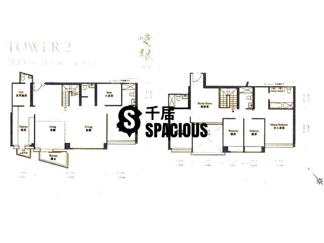 Ngau Chi Wan - Aria Kowloon Peak Floor Plan 28