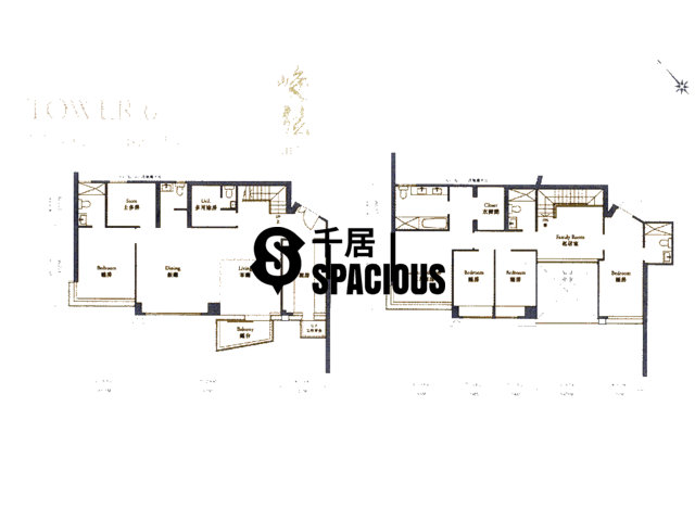 Ngau Chi Wan - Aria Kowloon Peak Floor Plan 21