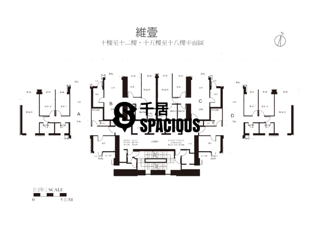 Shek Tong Tsui - Harbour One Floor Plan 02