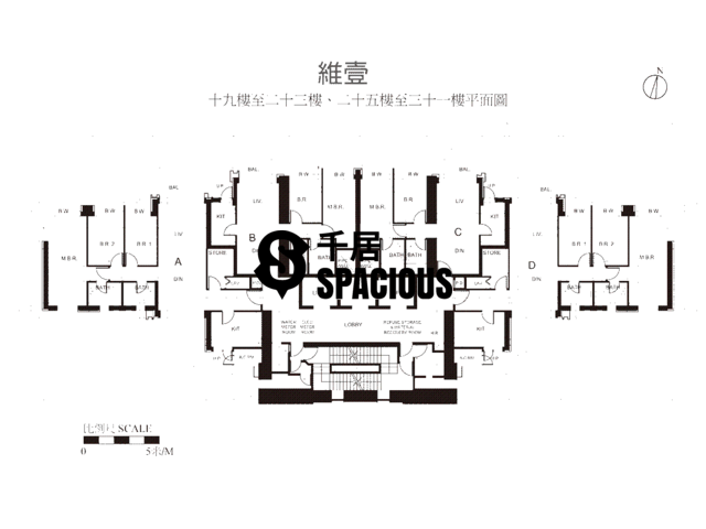 Shek Tong Tsui - Harbour One Floor Plan 05