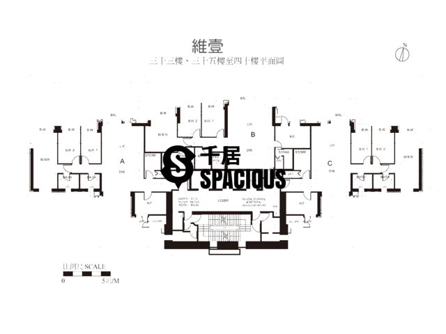 Shek Tong Tsui - Harbour One Floor Plan 07