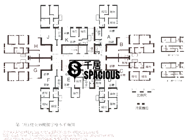 Siu Sai Wan - Cheerful Garden Floor Plan 02