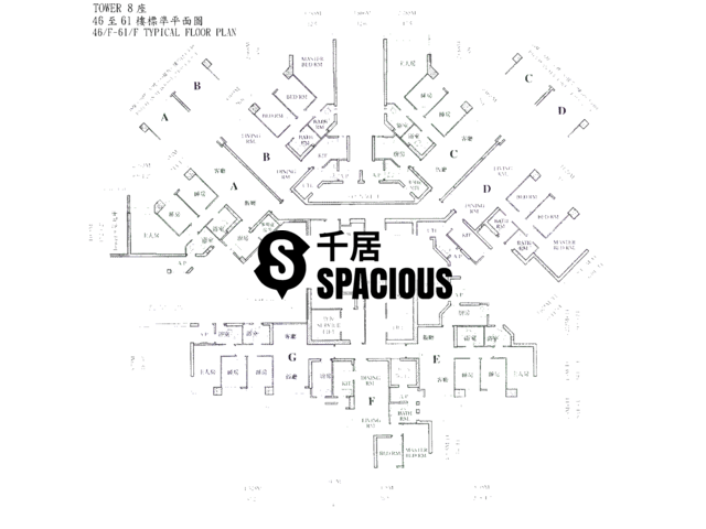 Siu Sai Wan - Island Resort Floor Plan 01
