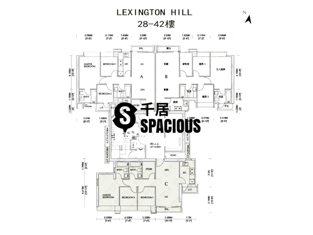 Kennedy Town - Lexington Hill Floor Plan 03
