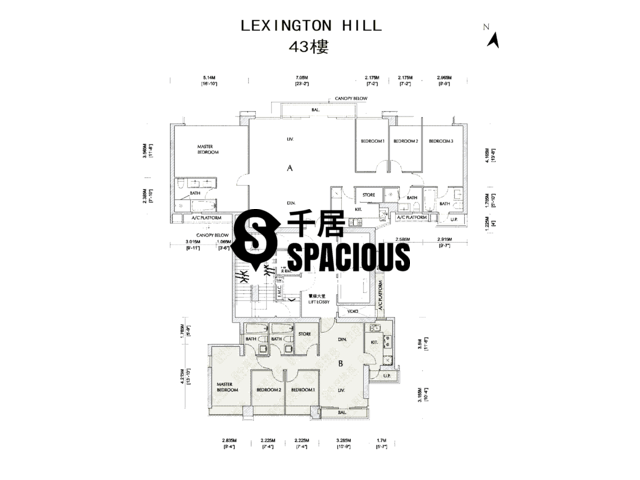 Kennedy Town - Lexington Hill Floor Plan 01