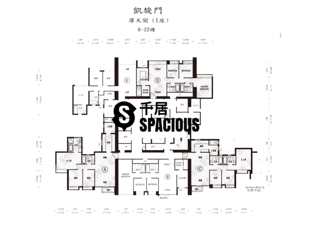 West Kowloon - The Arch Floor Plan 02