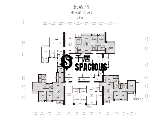 West Kowloon - The Arch Floor Plan 06