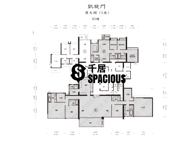 West Kowloon - The Arch Floor Plan 37