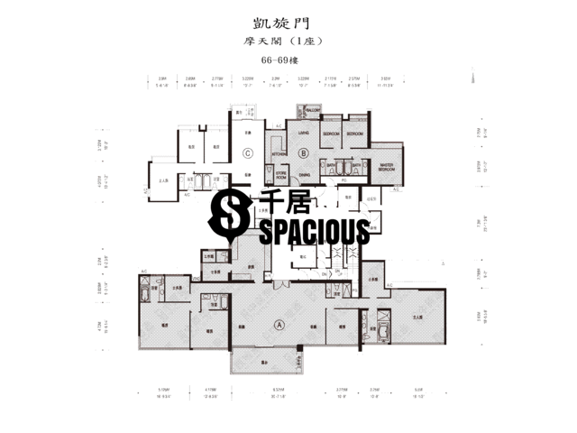 West Kowloon - The Arch Floor Plan 09