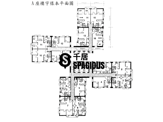Tsing Yi - CHING WAH COURT Floor Plan 02