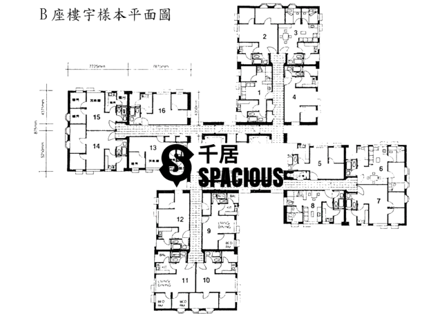 Tsing Yi - CHING WAH COURT Floor Plan 01