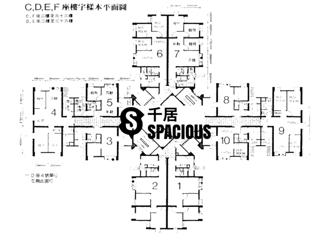 Tsing Yi - CHING WAH COURT Floor Plan 03